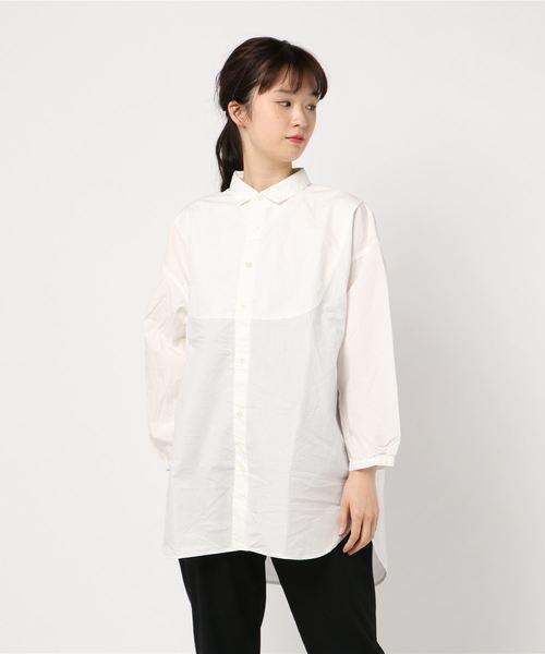 綿麻タンブラーオーバーシャツ