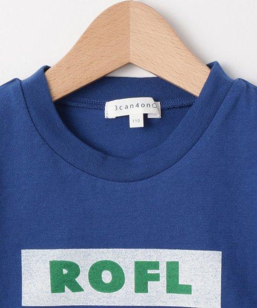 裾切替 ROFLロゴTシャツ