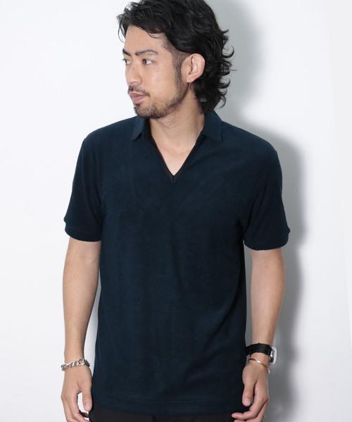 ずっと気になってた PILE POLO POLO SHIRTS(ポロシャツ)|junhashimoto(ジュンハシモト)のファッション通販, 綿半オンラインショップ:9c705476 --- skoda-tmn.ru