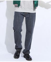 ROTAR(ローター)のFive DIA Stitch Black Denim Pants / ブラックデニム / ブリーチ(デニムパンツ)
