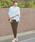 TRUDEA(トルディア)の「スクエアスリーブ テーパードパンツ / 結婚式・成人式・謝恩会・パーティードレス(セットアップ)」|グレー