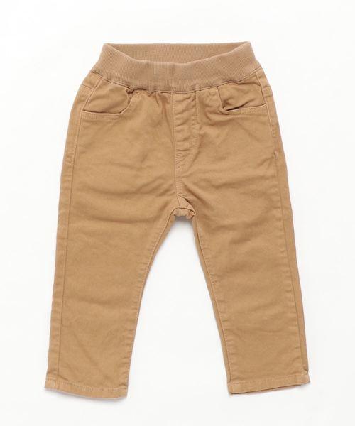 JIPPON(ジポン)の「オーバーダイスタンダードパンツ(80〜140cm)(パンツ)」 ベージュ