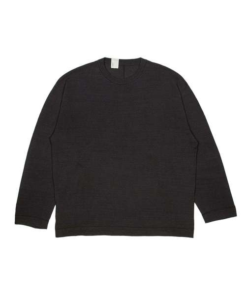CREW NECK LONG SLEEVE
