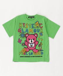 BEAR SOUL オーバーサイズTシャツ【XS/S/M】グリーン