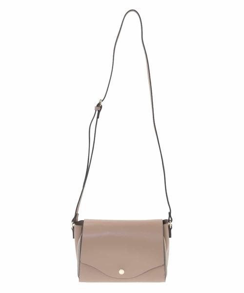 軽量/お財布機能付き コンパクトショルダーバッグ