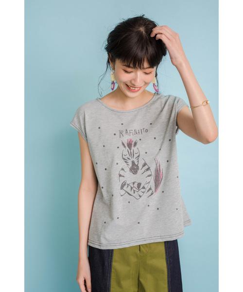 ゼブラドット Tシャツ