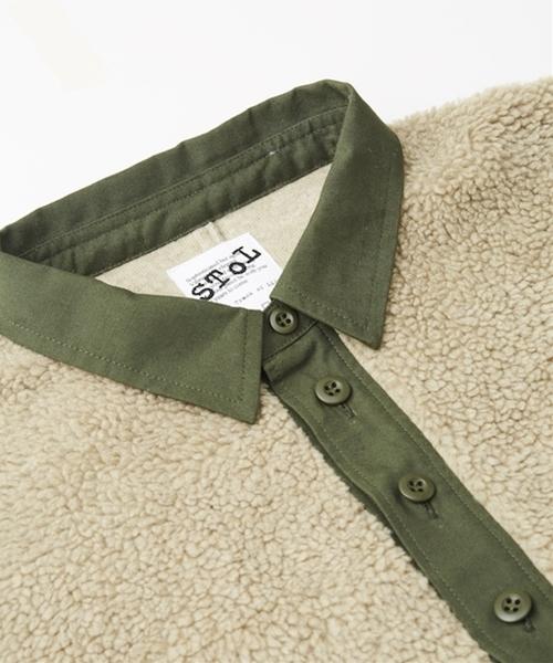SToL/ストル Boa Shirt ボア シャツ