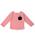 ANPANMAN KIDS COLLECTION(アンパンマンキッズコレクション)の「【アンパンマン】ボーダーポケット長袖Tシャツ(Tシャツ/カットソー)」|レッド
