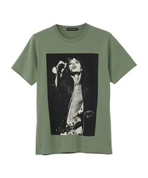 THE ROLLING STONES/MICK 1973 Tシャツグリーン