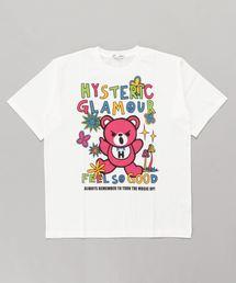 BEAR SOUL オーバーサイズTシャツ【L】アイボリー