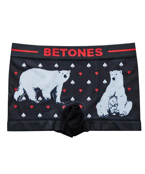 """BETONES(ビトーンズ)の「BETONES """"ANIMAL""""ボクサーパンツ(ボクサーパンツ)」 ブラック"""