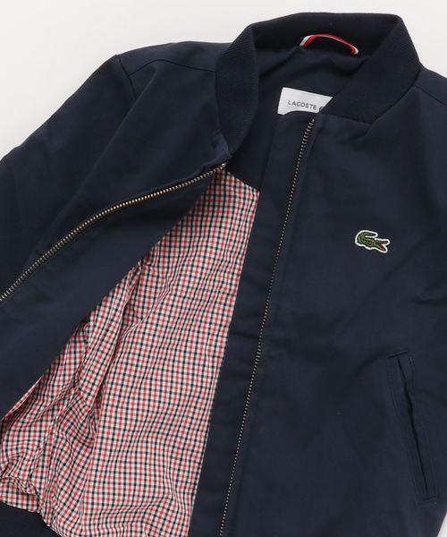 ジップアップボンバージャケット