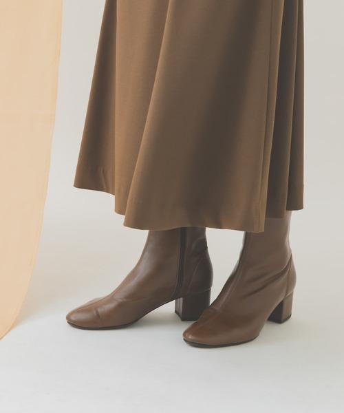 RODE SKO(ロデスコ)の「EMELINA プレーンブーツ(ブーツ)」|ブラウン