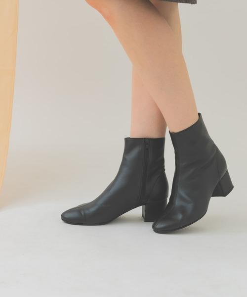RODE SKO(ロデスコ)の「EMELINA プレーンブーツ(ブーツ)」 ブラック
