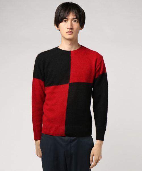 贈り物 ラクーン Hysteric カラーブロッキング プルオーバー(ニット/セーター)|HYSTERIC Thee GLAMOUR(ヒステリックグラマー)のファッション通販, ヒラカグン:db8b8a79 --- blog.buypower.ng