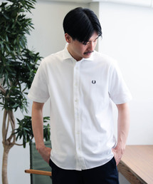 FRED PERRY(フレッドペリー)のFRED PERRY × BEAMS / 別注 カッタウェイ フルオープン ポロシャツ 19SS(ポロシャツ)