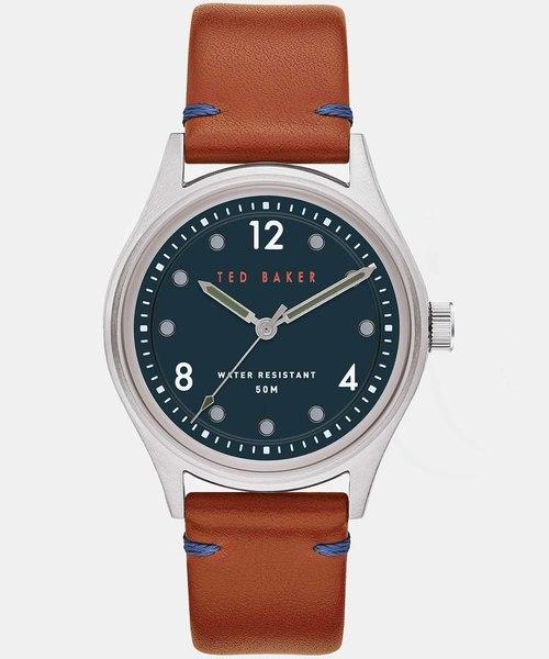 【受注生産品】 BELEEA ロゴ入りレザー腕時計(腕時計) BAKER TED Ted Baker(テッドベーカー)のファッション通販, イシオカシ:3ddf9f88 --- fahrservice-fischer.de
