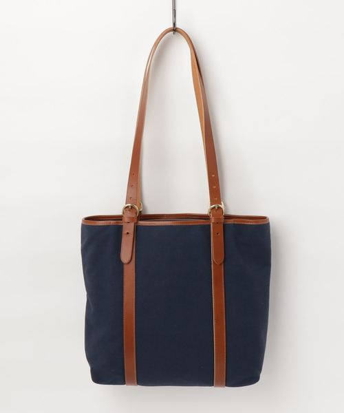 IL BISONTE / NEW NYLON x ORIGINAL LEATHER / TOTE BAG