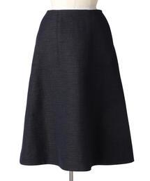 Drawer ネイビーフレアスカート