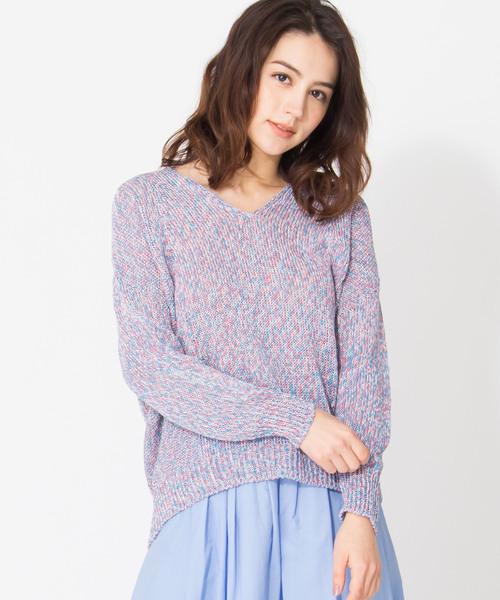 【Brahmin】Vネックセーター