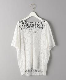 <MM6 Maison Margiela>LACE AIDS TシャツΨ