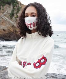 【MLB】ファッションマスク(レッドソックス)オフホワイト