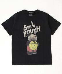 SY/HUG ME I'M DIRTY Tシャツブラック