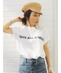 Ungrid | I HAVE ALL A NEED Tee(Tシャツ・カットソー)