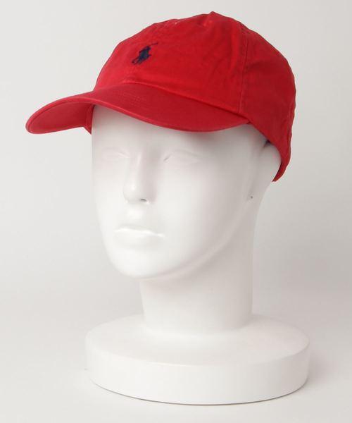 【 POLO RALPH LAUREN / ポロラルフローレン 】True Chino Sport Cap (BSR)