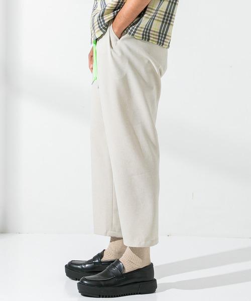 UNITED TOKYO(ユナイテッドトウキョウ)の「アンクルサイドシームレスサマースラックス/シェフパンツ(スラックス)」 詳細画像