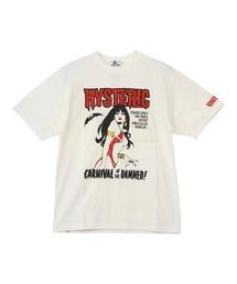 VAMPIRELLA/CARNIVAL OF THE DAMNED Tシャツホワイト