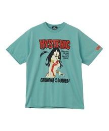VAMPIRELLA/CARNIVAL OF THE DAMNED Tシャツグリーン
