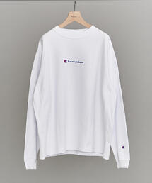 【別注】 <CHAMPION(チャンピオン)> REVERSE WEAVE LONG SLEEVE TEE/Tシャツ ◆