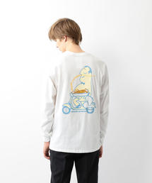 <Reception Clothing> LONG SLEEVE TEE 2/Tシャツ(Tシャツ/カットソー)