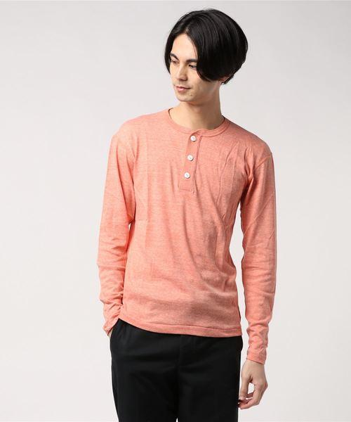 ∴【 Healthknit / ヘルスニット 】TCRヘンリーネック長袖Tシャツ 986L SIP