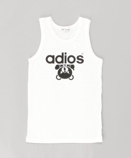 ADIOS BEAR タンクトップ【L】