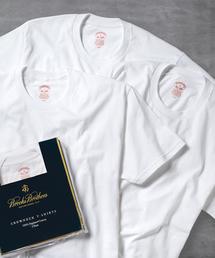 BROOKS BROTHERS(ブルックス ブラザーズ)のスーピマコットン 3パック ベーシック クルーネック Tシャツ(Tシャツ/カットソー)