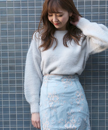 DEICY(デイシー)のシャギー袖バルーンPO (ニット/セーター)