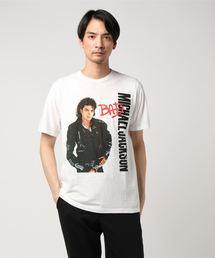 MICHAEL JACKSON/BAD プリント Tシャツ