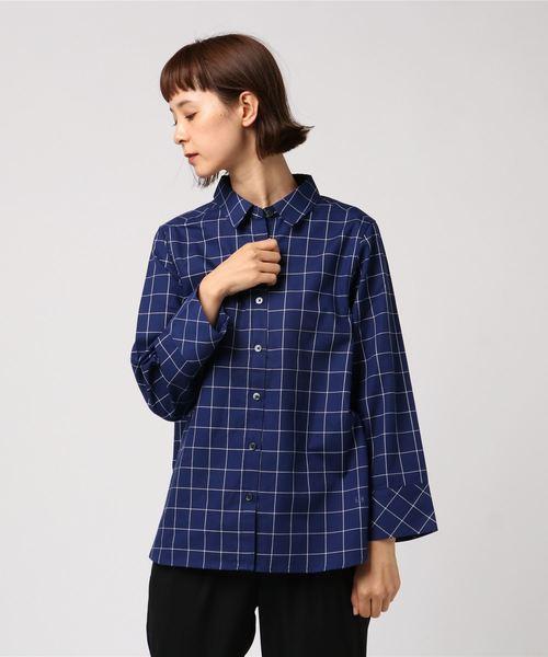 オックスストライプ&ウィンドペンシャツ