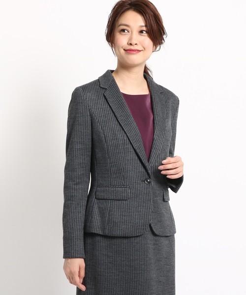 【STORY10月号掲載】'18秋冬 ストライプ匠ジャケ