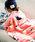 Fashion Letter(ファッションレター)の「スワンネル マルチブランケット 大判 ひざ掛け(ブランケット)」|ピンク系その他