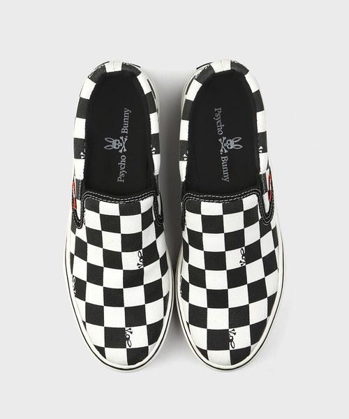 Checker Bunny  スリッポン