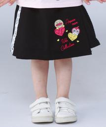 ANPANMAN KIDS COLLECTION(アンパンマンキッズコレクション)の【アンパンマン】ロゴテープインナー付スカート(スカート)