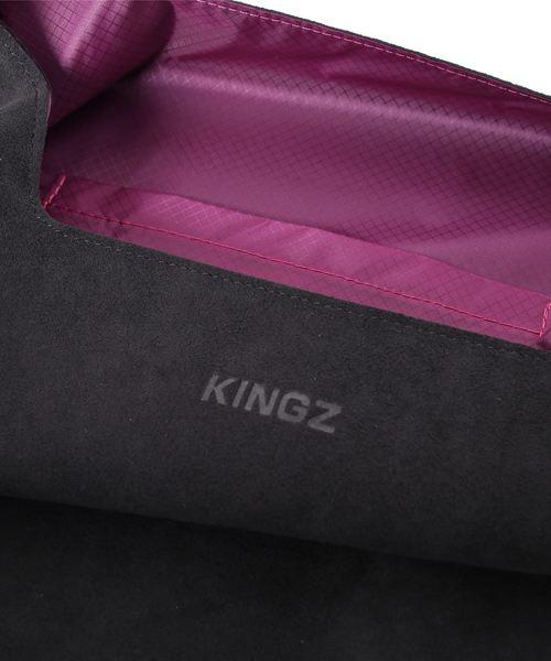 KINGZ by Samantha Thavasa(キングズ バイ サマンサタバサ)の「センスコラボ トート小(ブラック)(トートバッグ)」|詳細画像