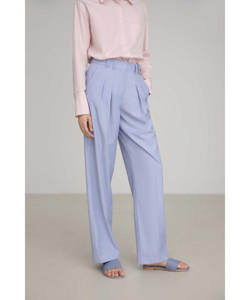 【UNSPOKEN】Light purple slacks FAZ19341chw