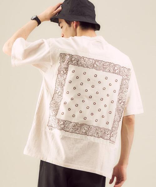 [ エレファント ブランド ] ELEPHANT BRAND BANDANA Tシャツ カットソー †