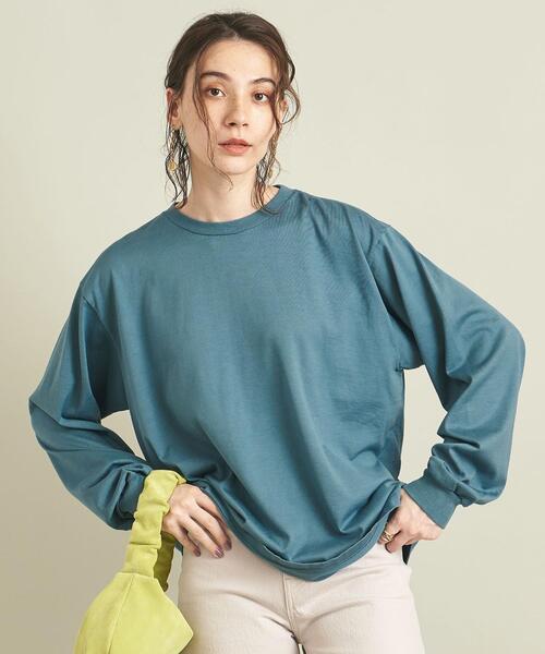 【別注】<AURALEE>LUSTER PLAITING ロングスリーブTシャツ 21FW Ψ ∴
