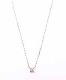 Marea rich(マレアリッチ)のK10YG ダイヤモンドネックレス -powder sugar-(ネックレス)