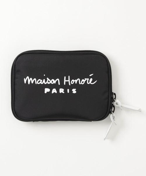 MAISON HONORE(メゾンオノレ)の「POUCH(ポーチ)」|ブラック